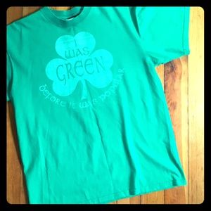 Unisex Irish Green graphic Tee